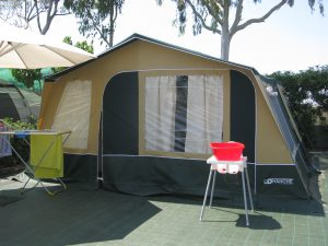 Campings con Comanche