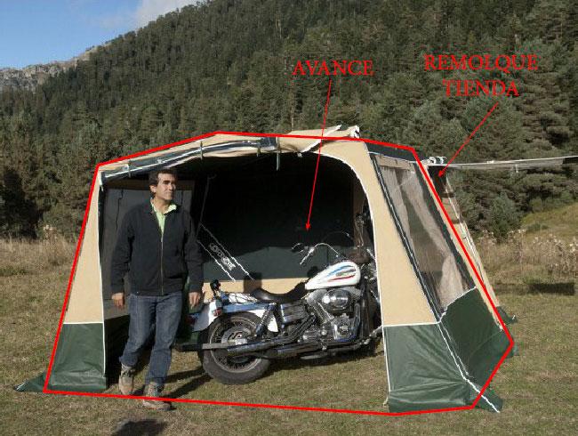 avance de camping mc camp