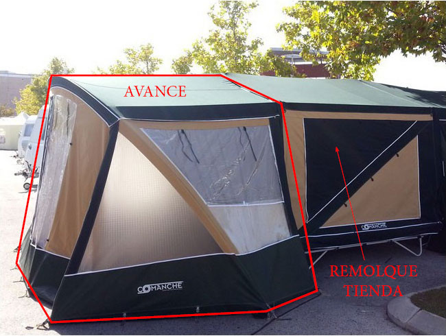 avance de camping montana explorer