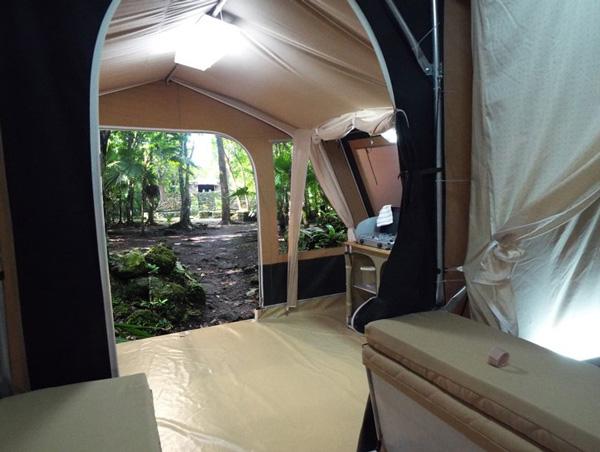 suelo de camping cuveta compact