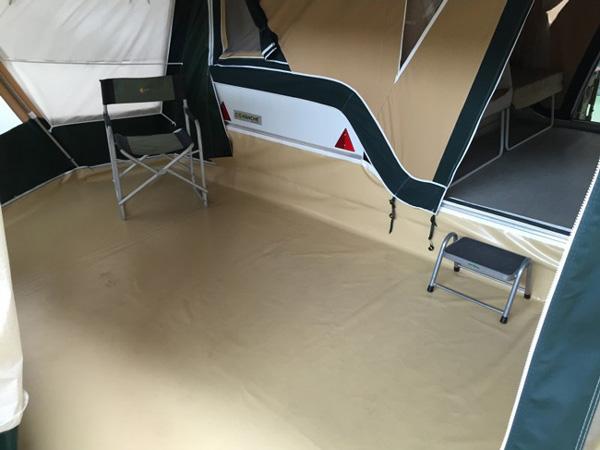 suelo de camping cuveta montana
