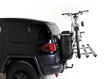 portacicletas para coches con rueda 4x4