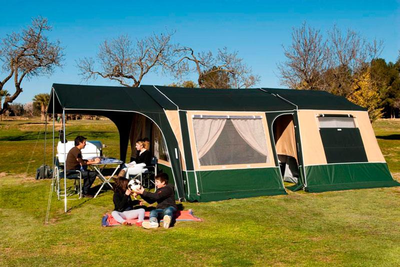 toldos para camping comanche compact