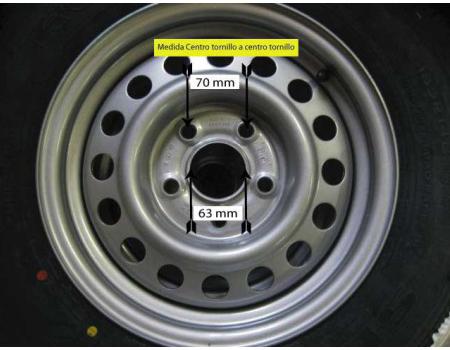 ruedas para remolques 5 agujeros
