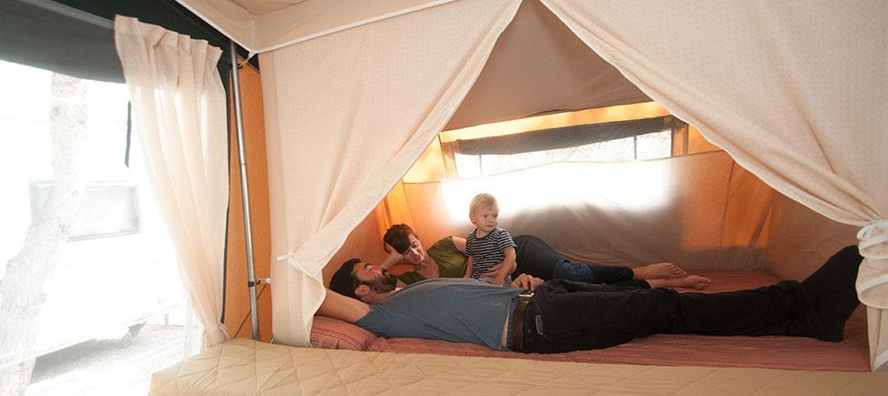 Remolque camping Compact cama doble