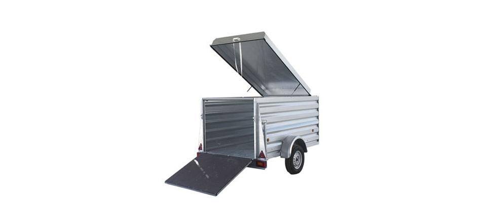 Remolque de carga Cargo 2100 abierto