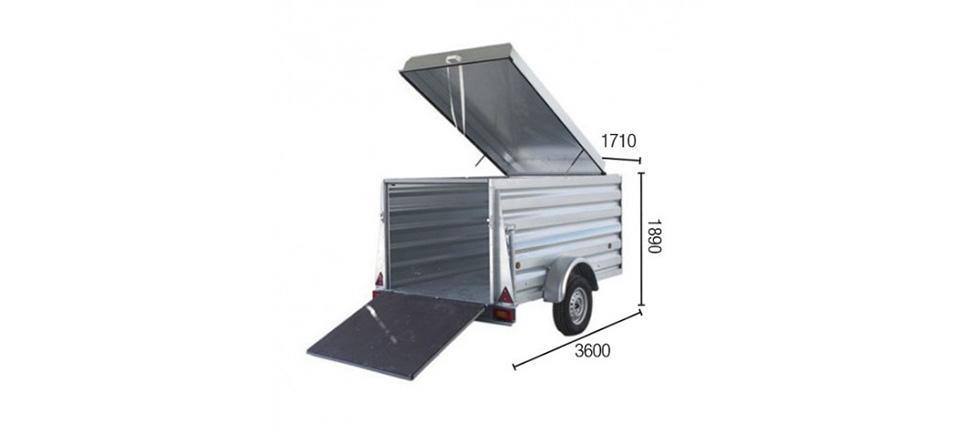 Remolque de carga Cargo Motoquad