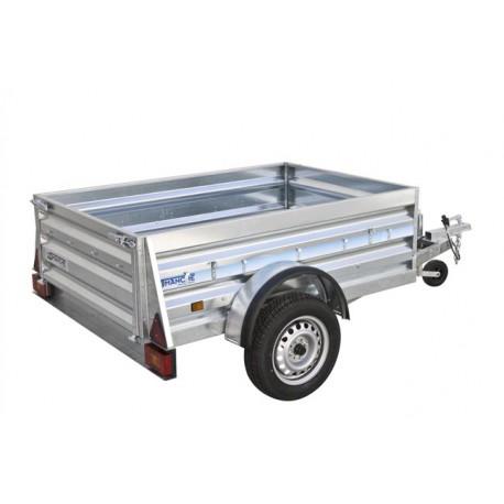 Remolque de carga Industrial 150 con Freno