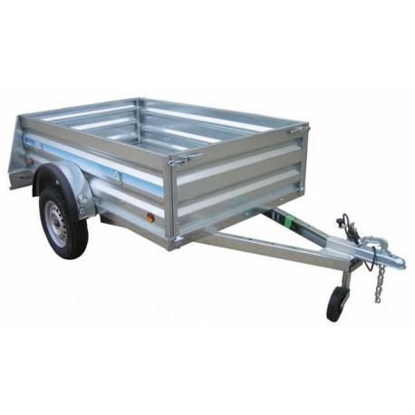 Remolque de carga Industrial 2100 con freno