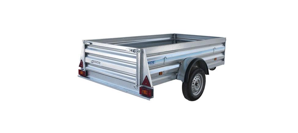 Remolque de carga Industrial 2500