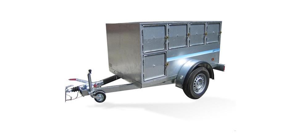 Remolque de carga Perros IND 2100 12 DIV