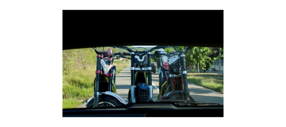 Remolque para moto Trial Zero