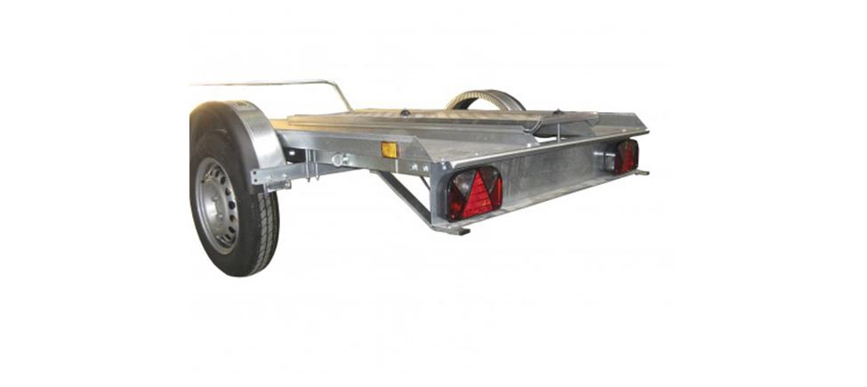Remolque para moto Quads Sprint Xl vista trasera