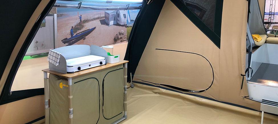 Remolque Camping Oregon Suelo